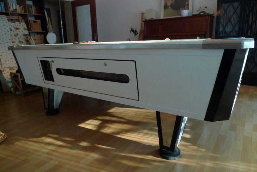 8 ft billardtisch mit m nzeinwurf restauriert. Black Bedroom Furniture Sets. Home Design Ideas