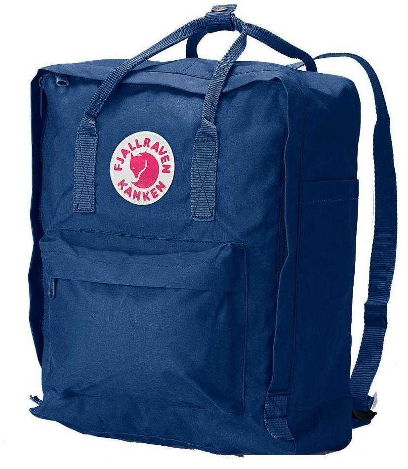 kanken rucksack blau 16l